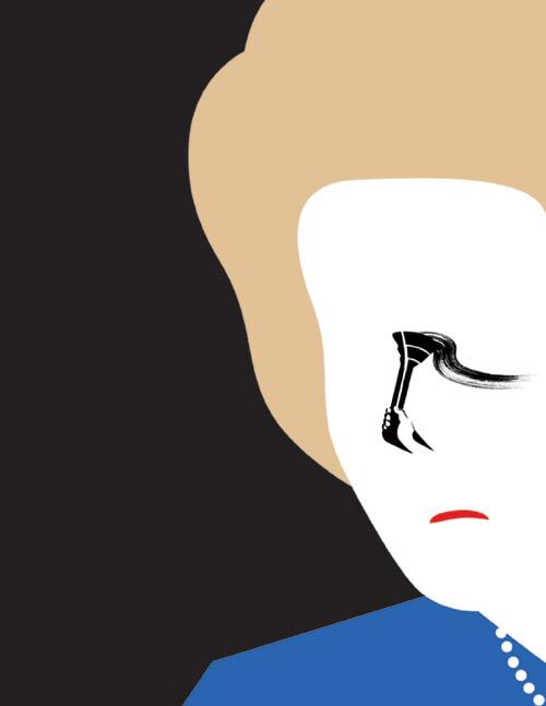 noma bar personnages espace negatif 14 Les personnages illustrés de Noma Bar