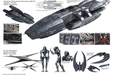 vaisseaux-battlestar-galactica