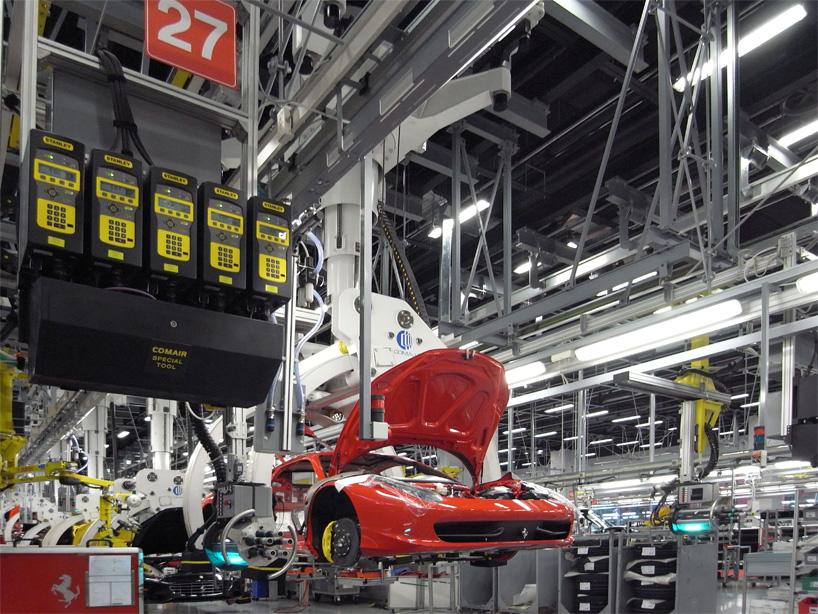 Visite de l'usine Ferrari ! (galerie & vidéo sur Bidfoly.com) By Laboiteverte Visite-usine-ferrari-voiture-interieur-08