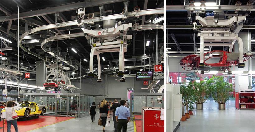 Visite de l'usine Ferrari ! (galerie & vidéo sur Bidfoly.com) By Laboiteverte Visite-usine-ferrari-voiture-interieur-11