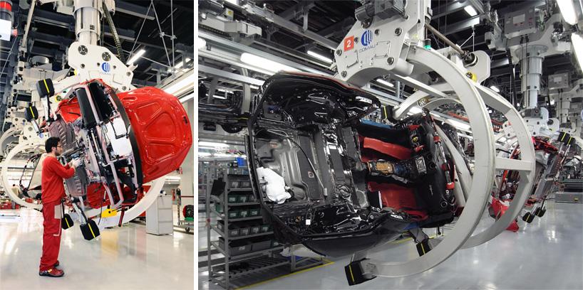 Visite de l'usine Ferrari ! (galerie & vidéo sur Bidfoly.com) By Laboiteverte Visite-usine-ferrari-voiture-interieur-12