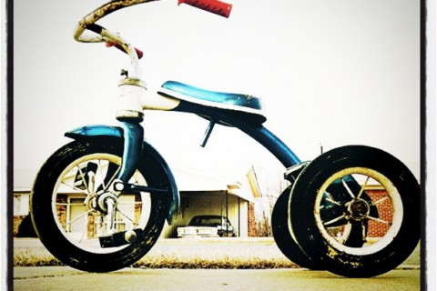 01 Instagram - William Eggleston - Tricycle