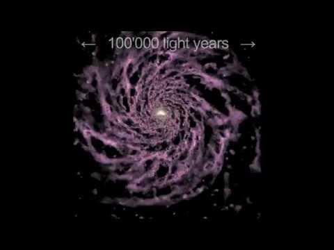 Première simulation de la formation de notre galaxie