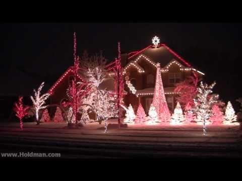 Une maison illuminée pour Noël