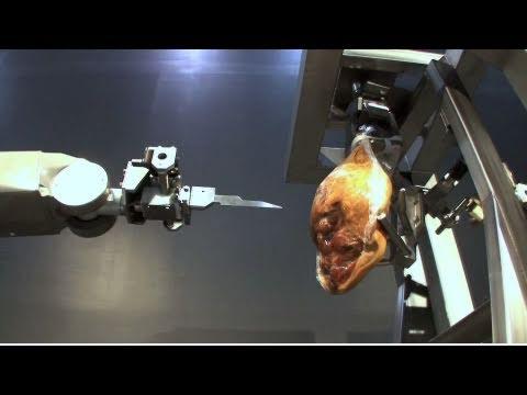 Un robot pour découper du jambon