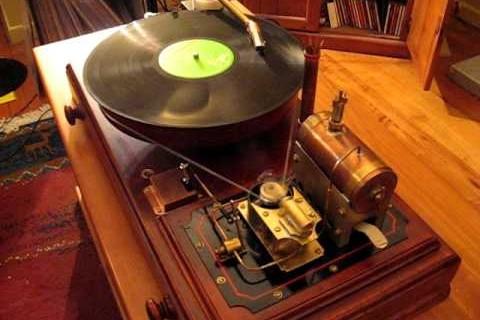 Un tourne disque à vapeur