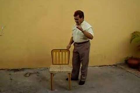 Chaise pliante magique