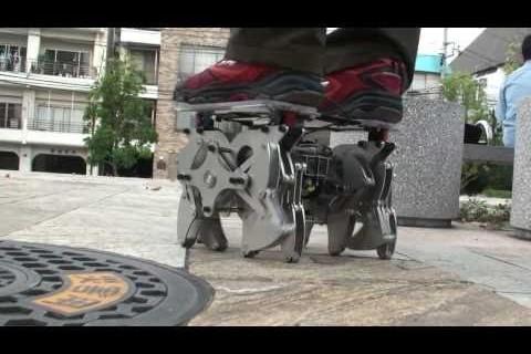 Transport robot araignée