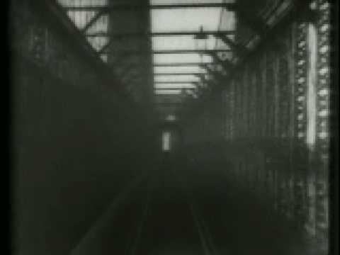 Traversée du pont de Brooklyn filmé en 1899