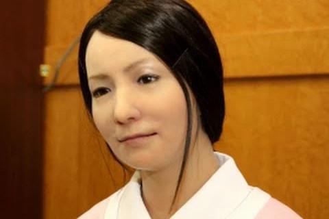 Un robot humain très réaliste