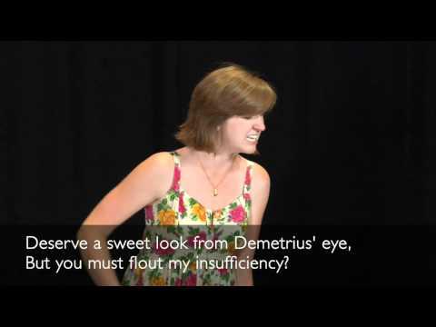 Shakespeare avec l'accent de l'époque