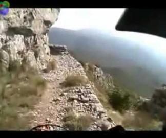 Une balade à moto dans la nature