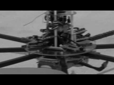 Un hélicoptère télécommandé à 8 rotors