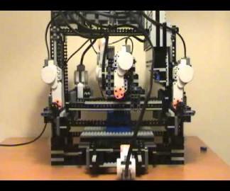Imprimante 3D en Lego