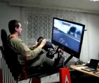 Simulateur de Formule 1