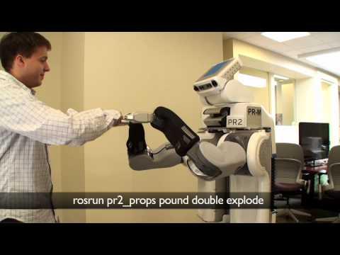 Une main de robot sensible