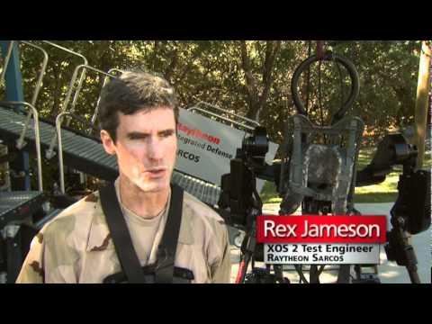 Un nouvel exosquelette chez Raytheon