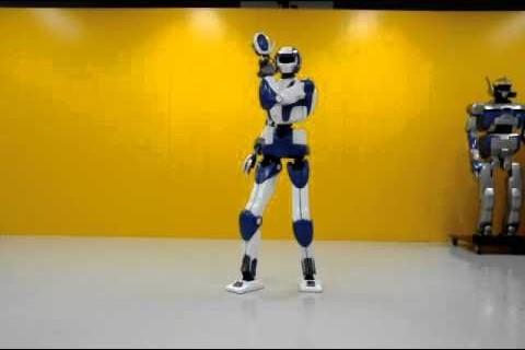 HRP-4 : Un robot athlétique