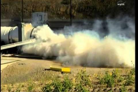 La Nasa teste un gros moteur de fusée