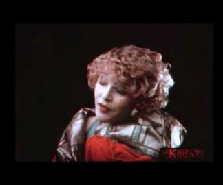 Test de film couleur par Kodak en 1922