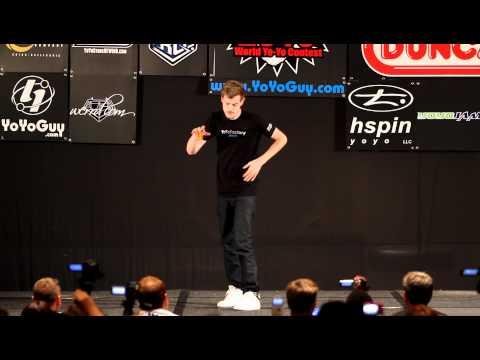 Jensen Kimmitt, Champion du monde de Yoyo 2010
