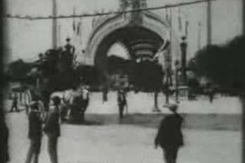 Paris filmé en 1900 par Thomas Edison