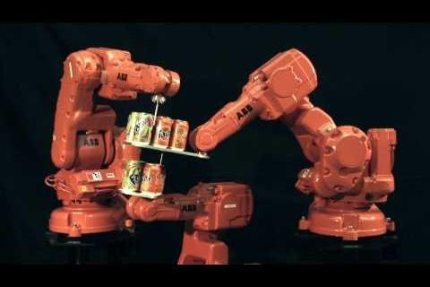 Les prodiges des robots industriels