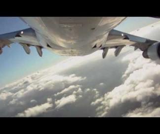 Envolez vous sous un Boeing 747