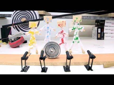 Une machine de Rube Goldberg photographique