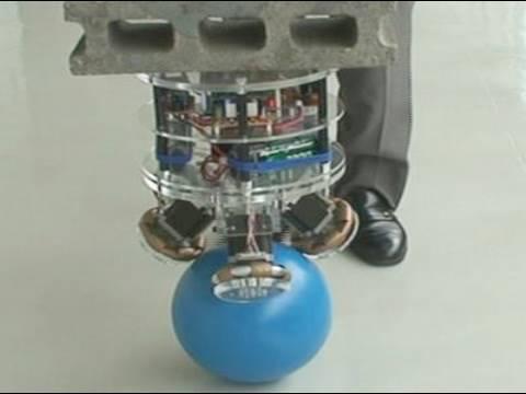 Un robot au sens de l'équilibre exceptionnel