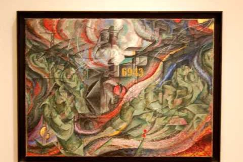 Tous les tableaux du MoMA en 2mn