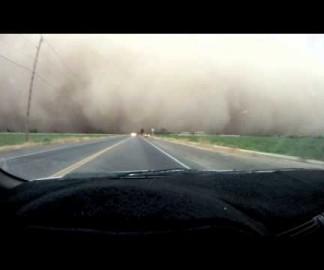 [MAJ] Une tempête de sable dans l'Arizona en timelapse