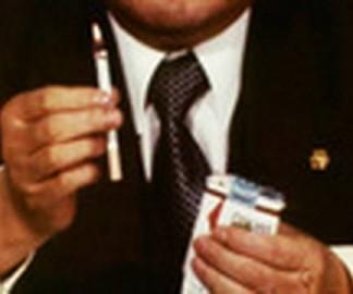 Cigarette à allumage automatique