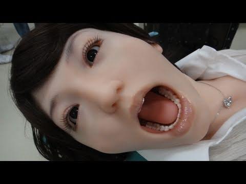 Robot médical ultra réaliste pour la formation des dentistes