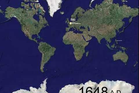 1000 ans de guerres dans le monde