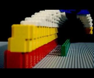 Un hommage aux jeux vidéos 8 bits en stop-motion