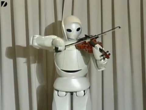 Robot violoniste