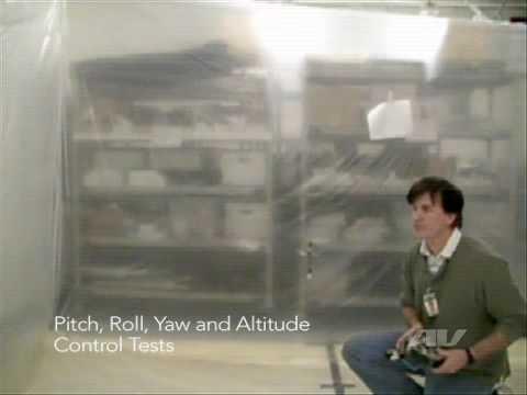 Débuts du robot colibri en vidéo