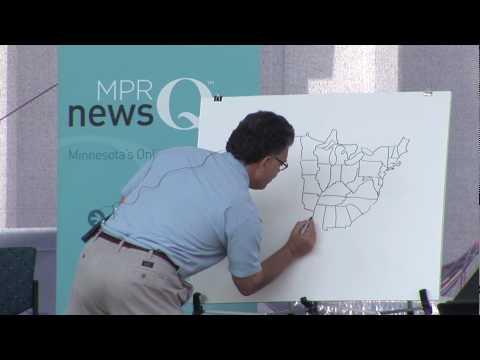 Al Franken dessine les USA de mémoire