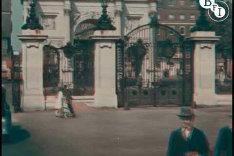 Vidéo de Londres en 1927 et en couleur