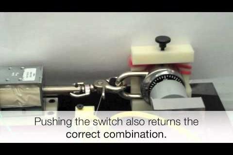 Une machine à trouver la combinaison des cadenas