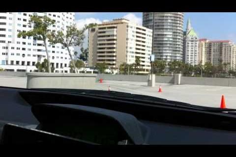 A bord de la voiture autonome de Google
