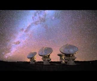 Timelapse d'un observatoire au Chili