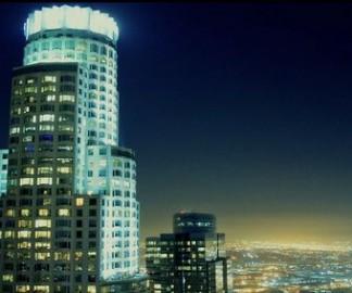 La nuit à Los Angeles
