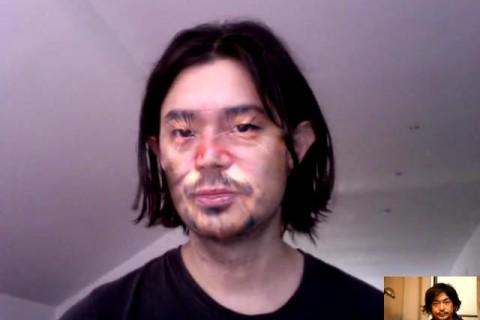 Substitution de visage en temps réel