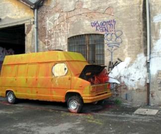 BIG BANG BIG BOOM, nouvelle animation à base de graffitis de Blu