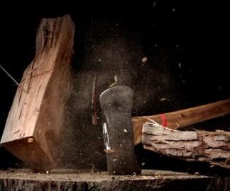 Du bois qui se découpe