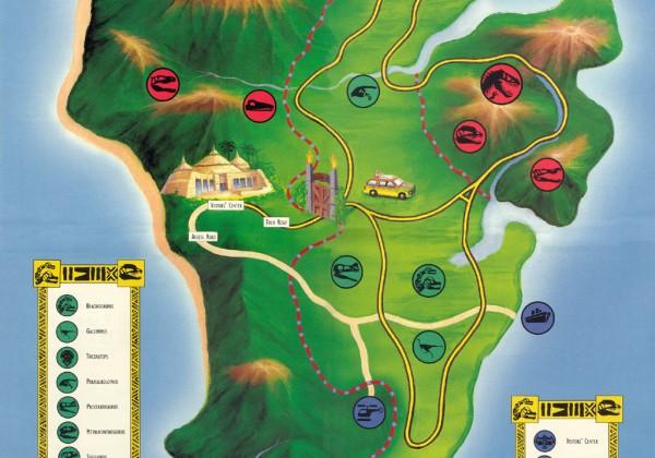Carte-plan-jurrasick-park