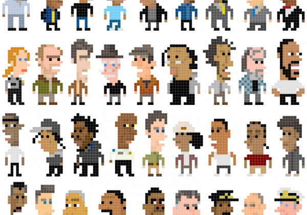 The Wire 8bit-pixel