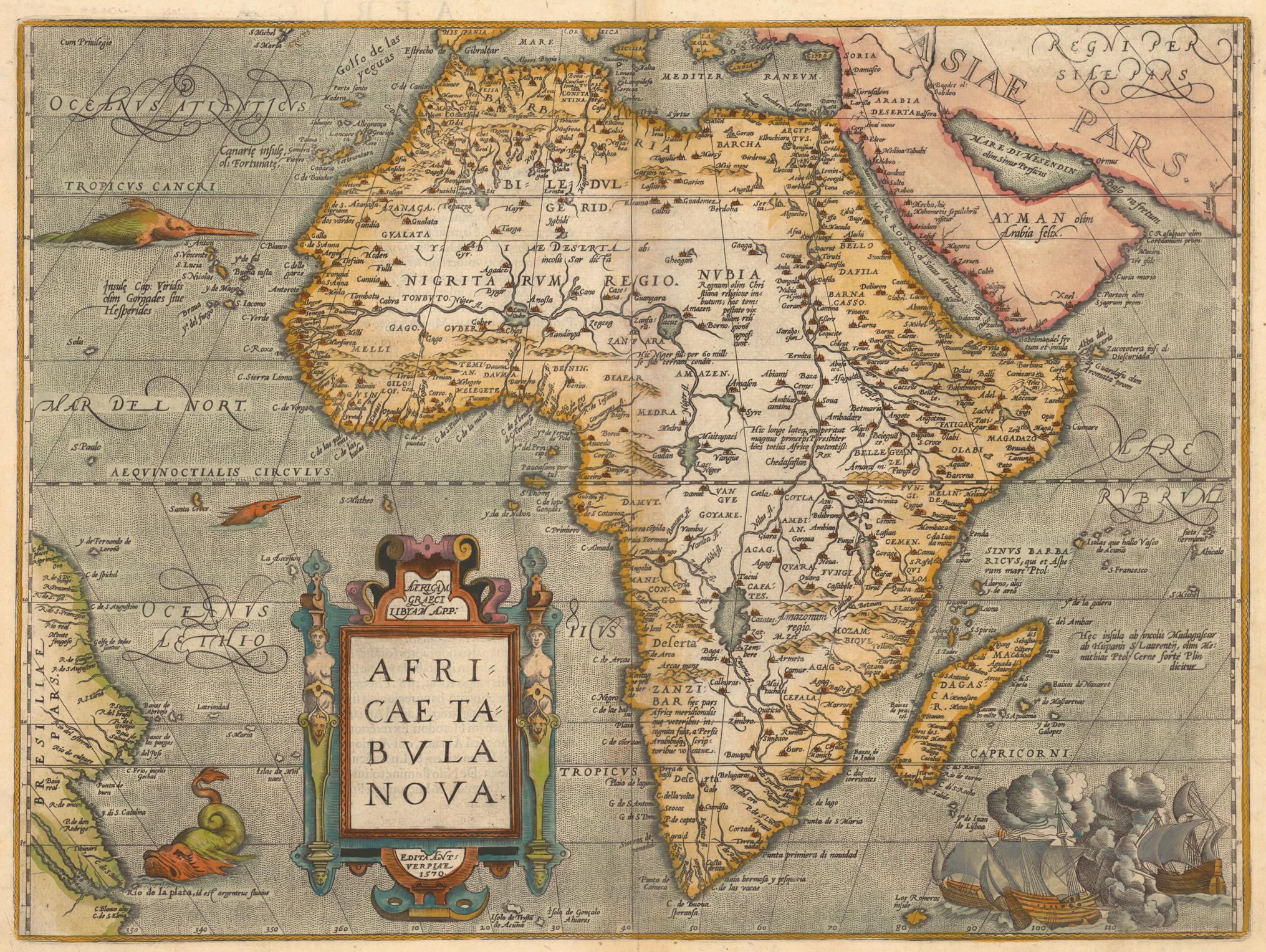 Carte De Lafrique Antique.Evolution Des Cartes De L Afrique
